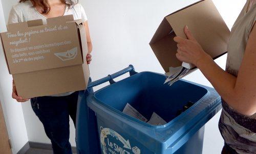 collecte papiers bureautiques